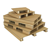 Corrugated Pallets - Air shipping Pallets